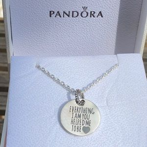 Pandora Everything I Am You Helped Me To Be Neck